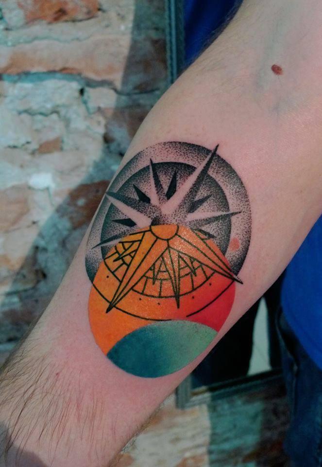 4 Grey Ink Dotwork Tattoo Designs