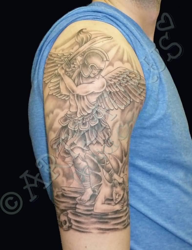 Archangel Arm Tattoo 47+ Archangel Michael ...