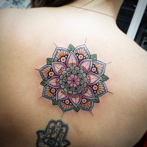 35 Beautiful Mandala Tattoos Collection