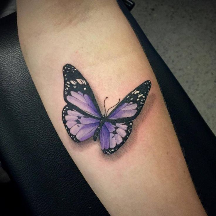 47+ Beautiful Butterfly Tattoos Collection