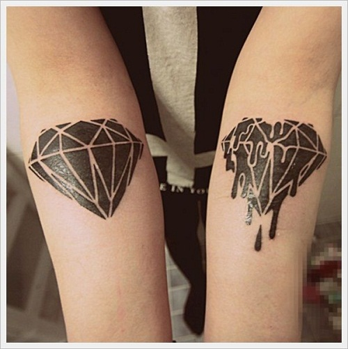 44+ Diamond Tattoos Designs And Pictures Collection
