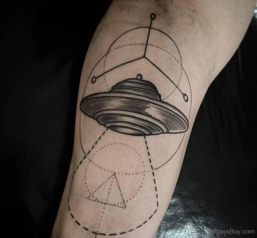alien spaceship tattoos - 736×736
