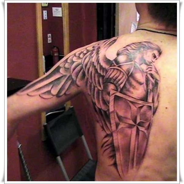 42+ Wonderful Archangel Michael Tattoos Collection
