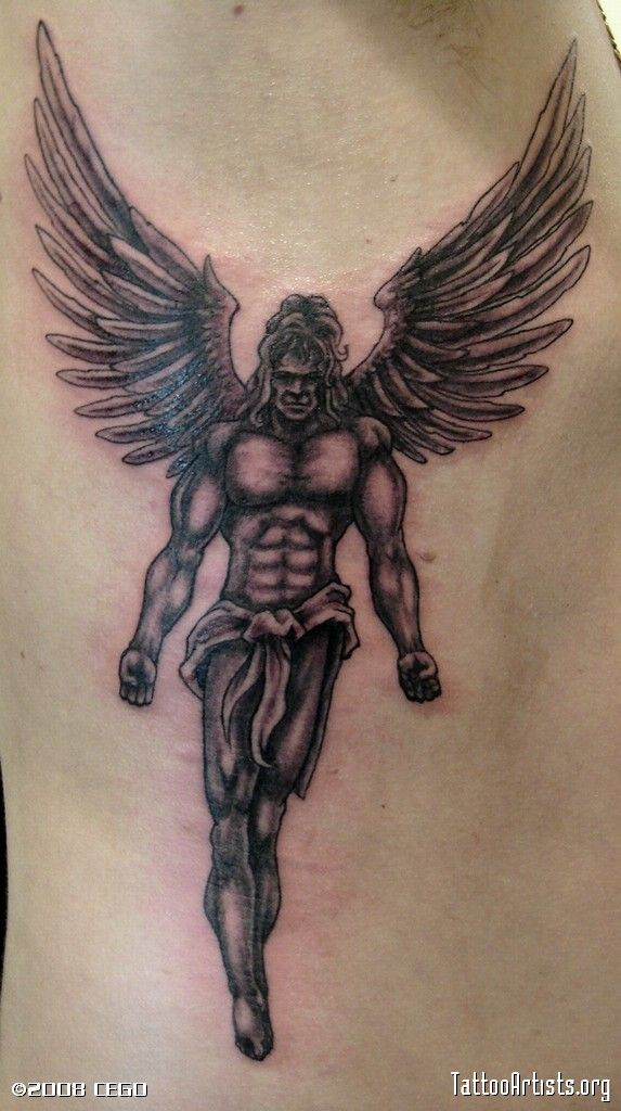 42 wonderful archangel michael tattoos collection