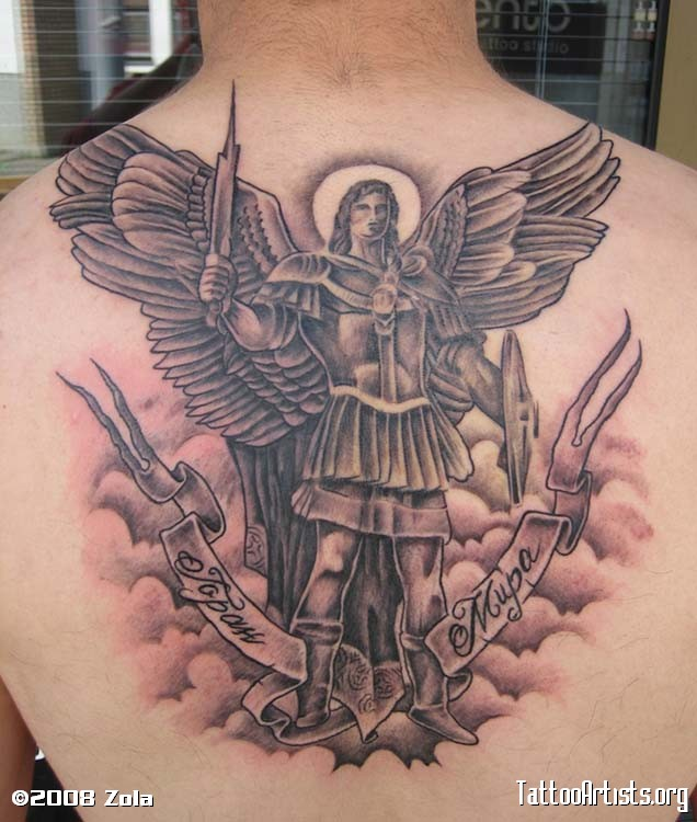 42+ Wonderful Archangel Michael Tattoos Collection