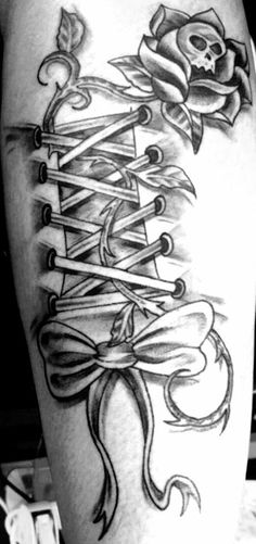 Corset tattoo meaning