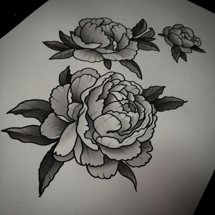 Peony Flower Tattoo Design Hd Image Flower And Rose Xmjunci Com
