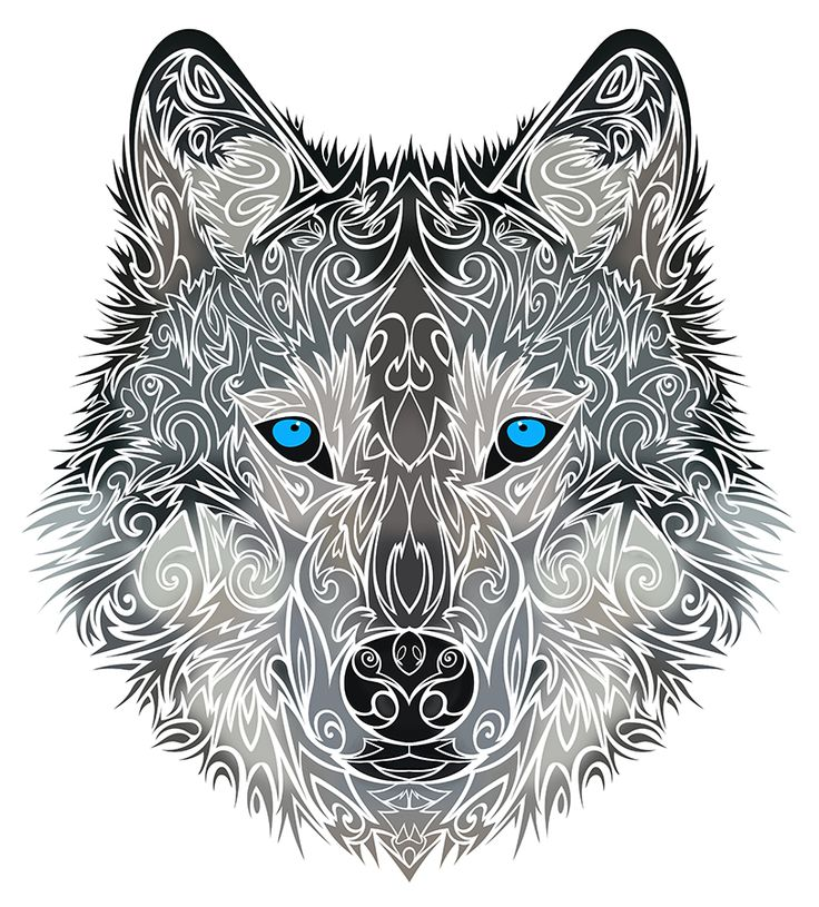 42 latest wolf tattoos designs for Wolf head tattoos