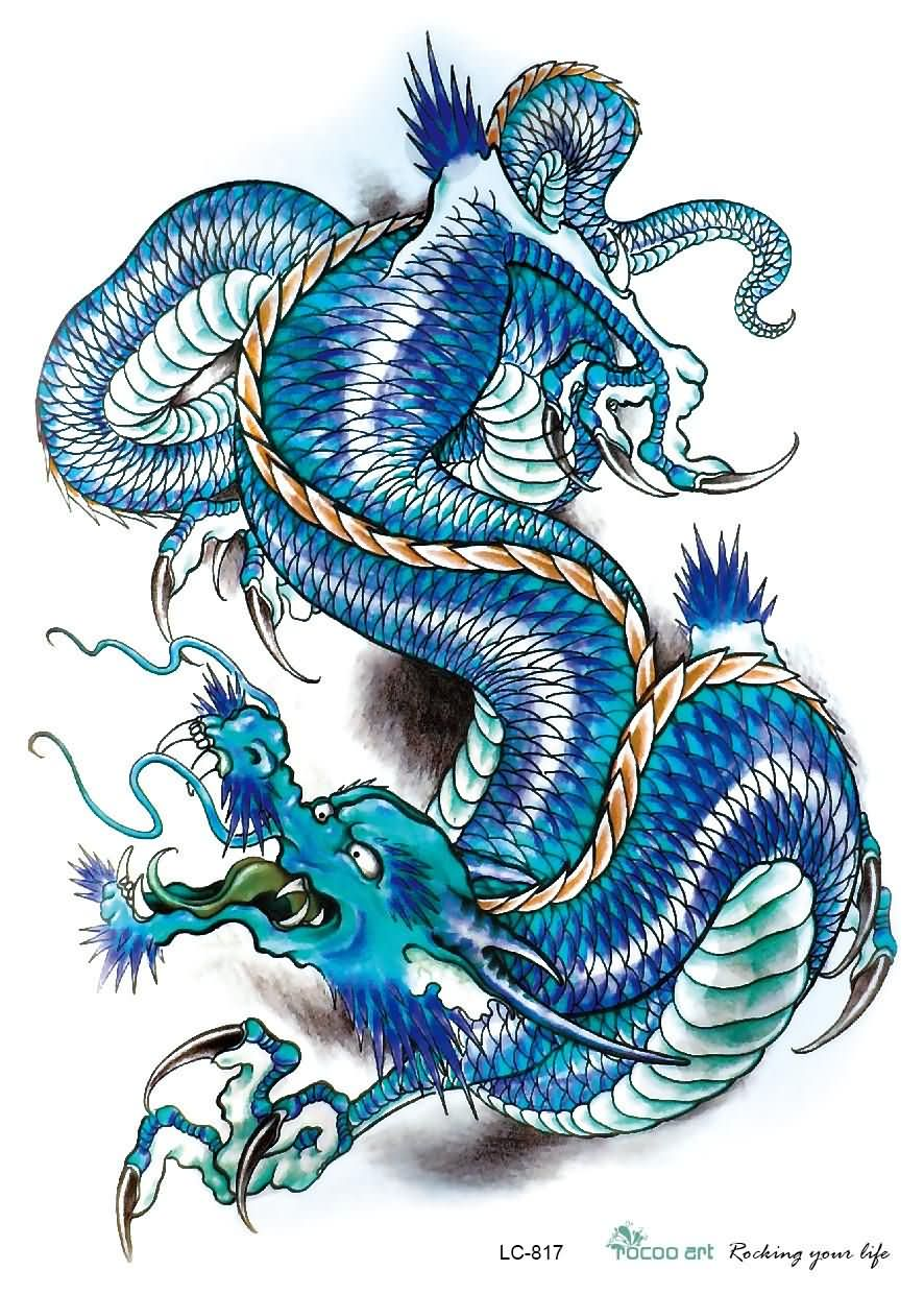 53 most beautiful chinese dragon tattoos designs. Black Bedroom Furniture Sets. Home Design Ideas