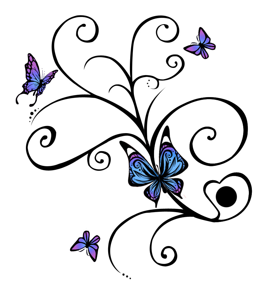 All became idea butterfly tattoo really