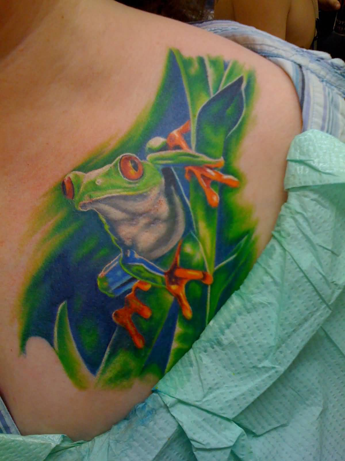 40+ Realistic Frog Tattoos Collection
