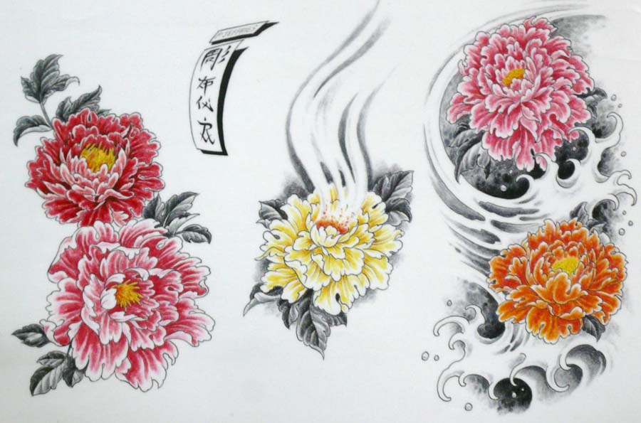 43+ Japanese Peony Tattoos Collection