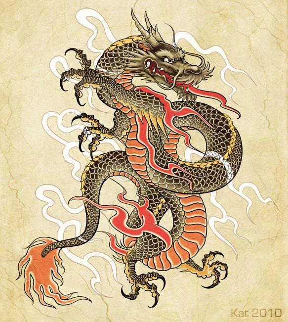 28+ Japanese Dragon Tattoos Designs