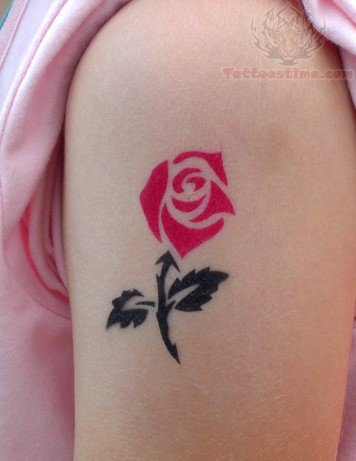40 best airbrush tattoos design for Cool rose tattoos