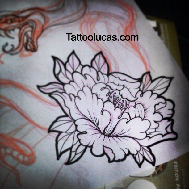 26 Peony Tattoo Designs Ideas: 33+ Amazing Peony Outline Tattoos