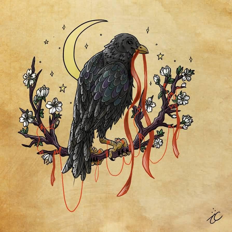 25 Crow Tattoo Designs Ideas: 58+ Best Crow Tattoos Ideas