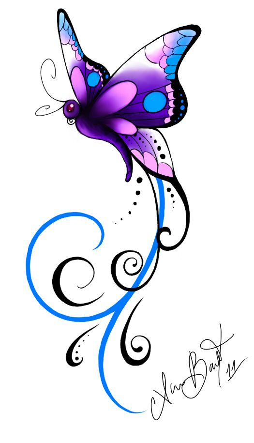 97b8d5e18 53+ Amazing Butterfly Tattoos Designs