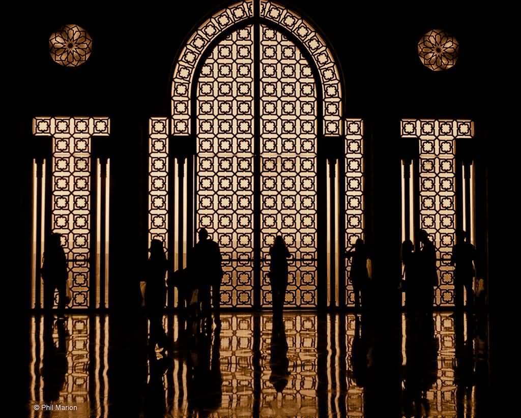Mosque Detail: 50 Adorable Hassan II Mosque Pictures And Photos