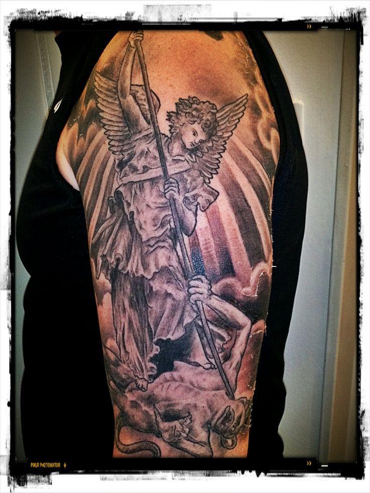 michael archangel symbol tattoo wwwpixsharkcom