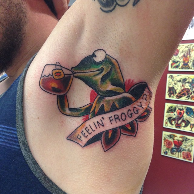 Kermit the frog tattoos