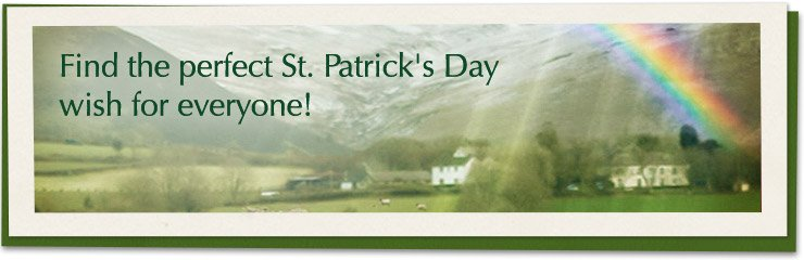 Find The Perfect Saint Patrick's Day Wish For Everyone Banner Image