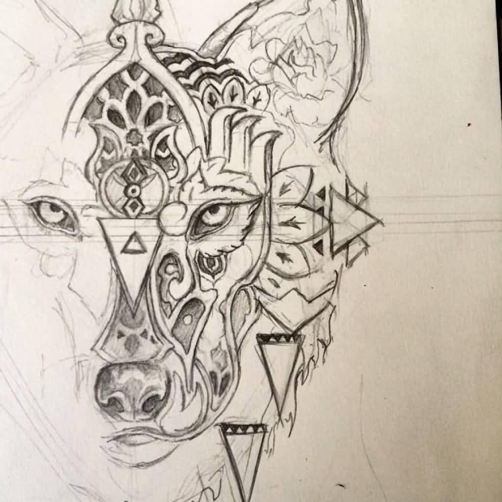 Geometric Tattoos Mandala Tattoo: 30+ Mandala Wolf Tattoos Designs Collection