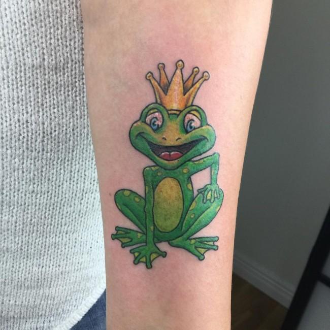 32+ Traditional Frog Tattoos Tree Tattoos Shoulder