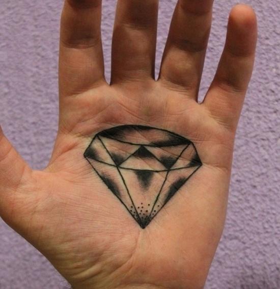 diamonds tattoos designs - photo #36