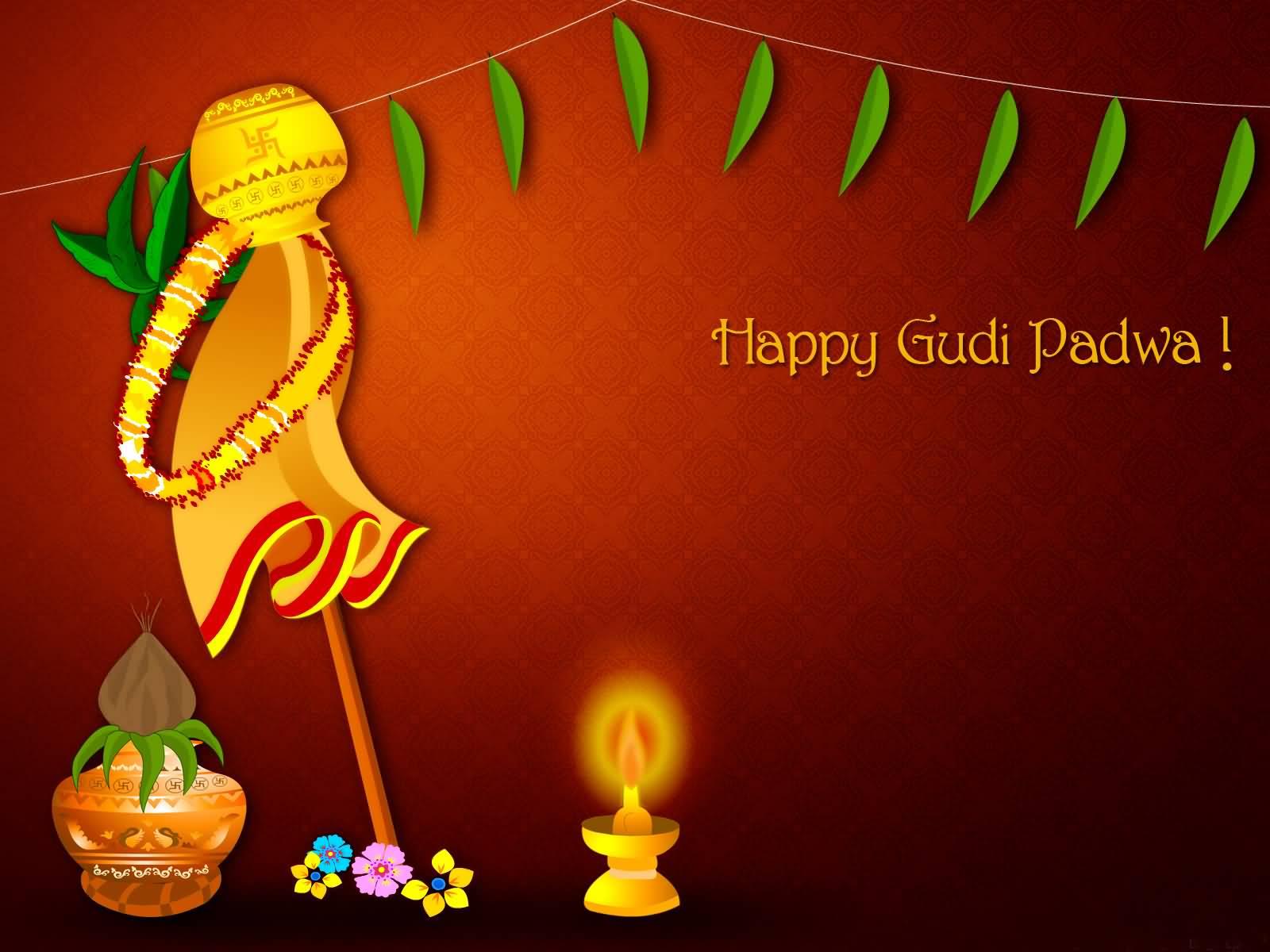 Happy Gudi Padwa 2017 Greetings Picture