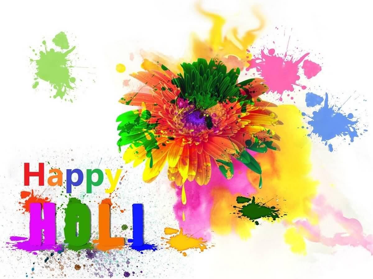Popular Wallpaper Love Holi - Happy-Holi-2017-Colorful-Flower-Wallpaper  2018_723138.jpg
