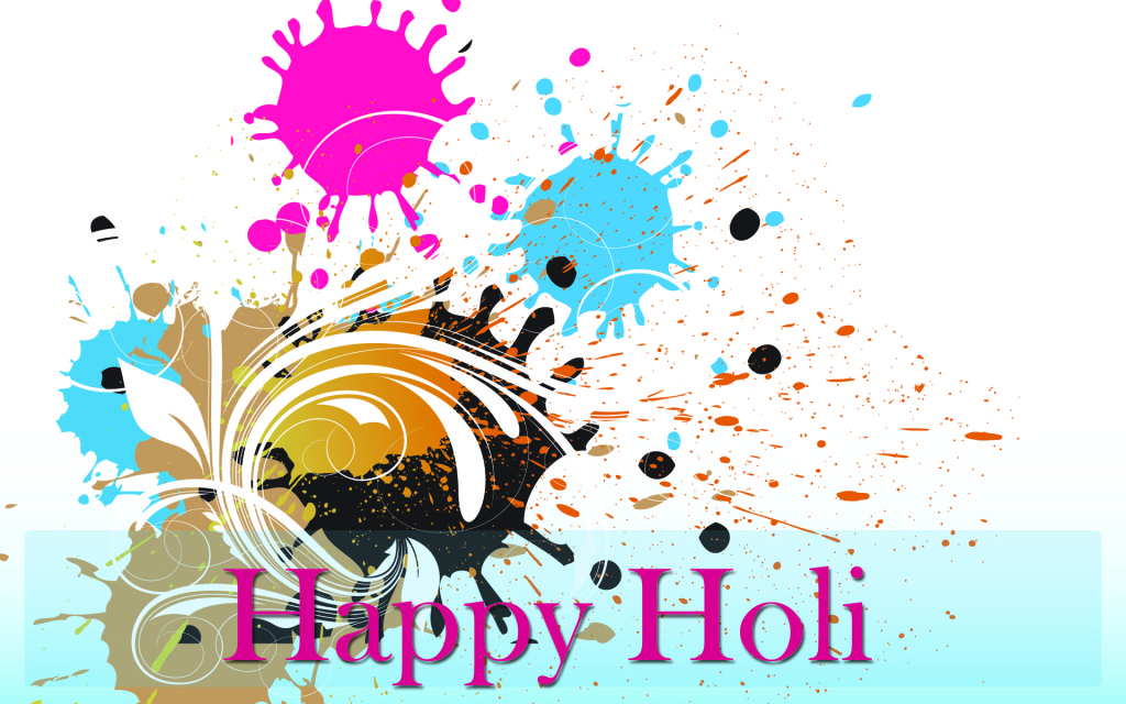 happy holi best wallpaper