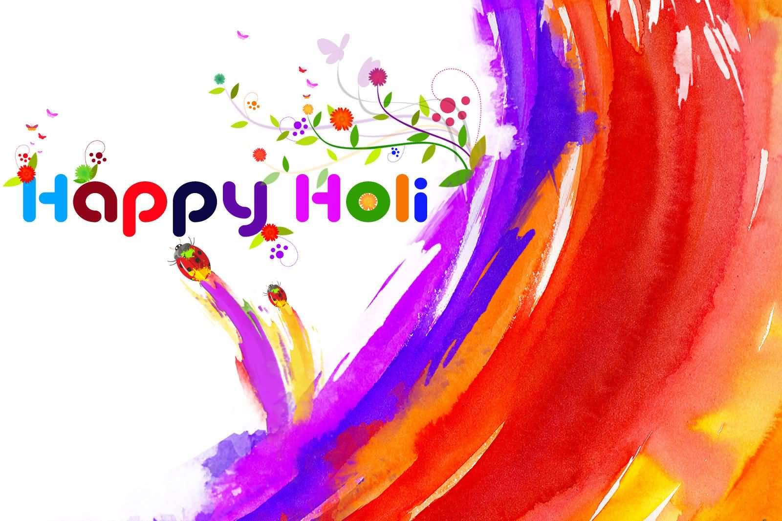 happy holi colorful wallpaper