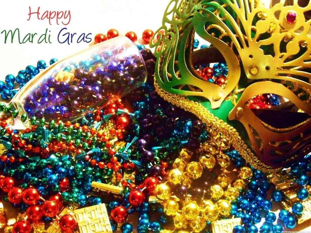 carnival beads fat this year is so many gras the tuesday as same mardi day feb