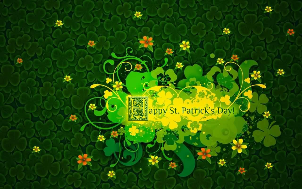 Happy Saint Patrick's Day 2017 Greeting Card
