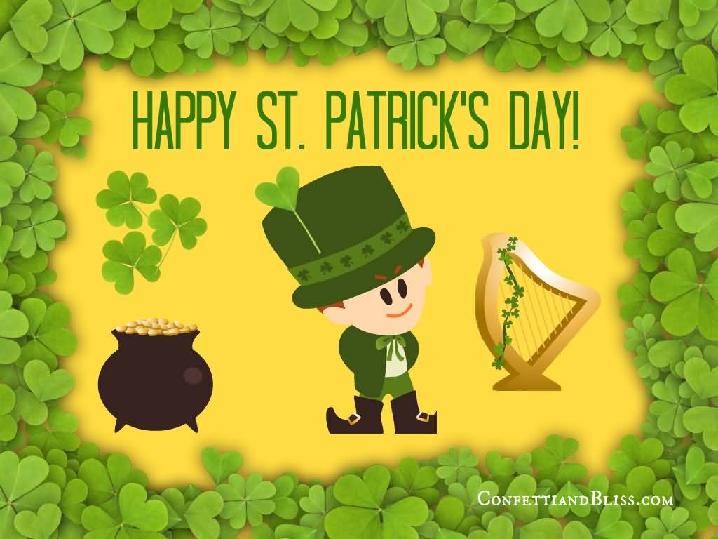Happy Saint Patricku0027s Day 2017 Wishes Picture