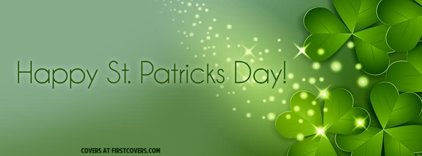Happy Saint Patrick's Day Facebook Cover Picture