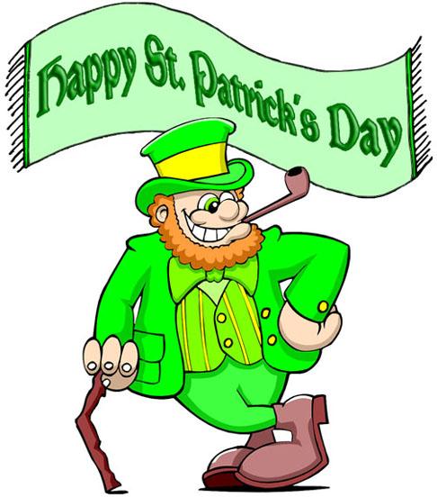 Happy Saint Patrick's Day Irish Man Picture