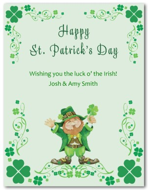 70 most beautiful saint patricks day greeting card happy saint patricks day wishing you the luck of the irish greeting card m4hsunfo