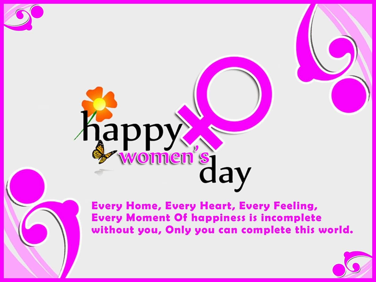 45 Most Beautiful Womens Day Greeting Card Pictures