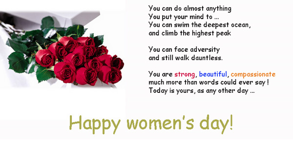 50 Most Beautiful Womens Day Wish Pictures And Photos