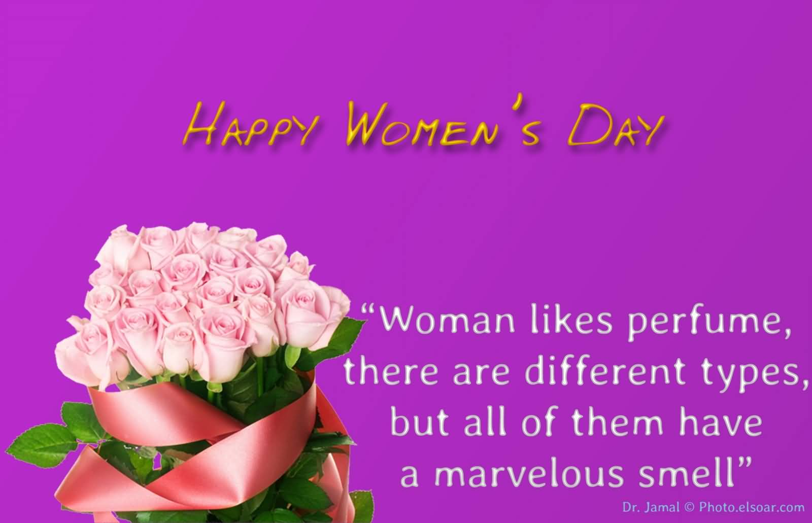 70 incredible women day 2017 greeting pictures happy womens day woman likes perfume there are different types but all of them kristyandbryce Images