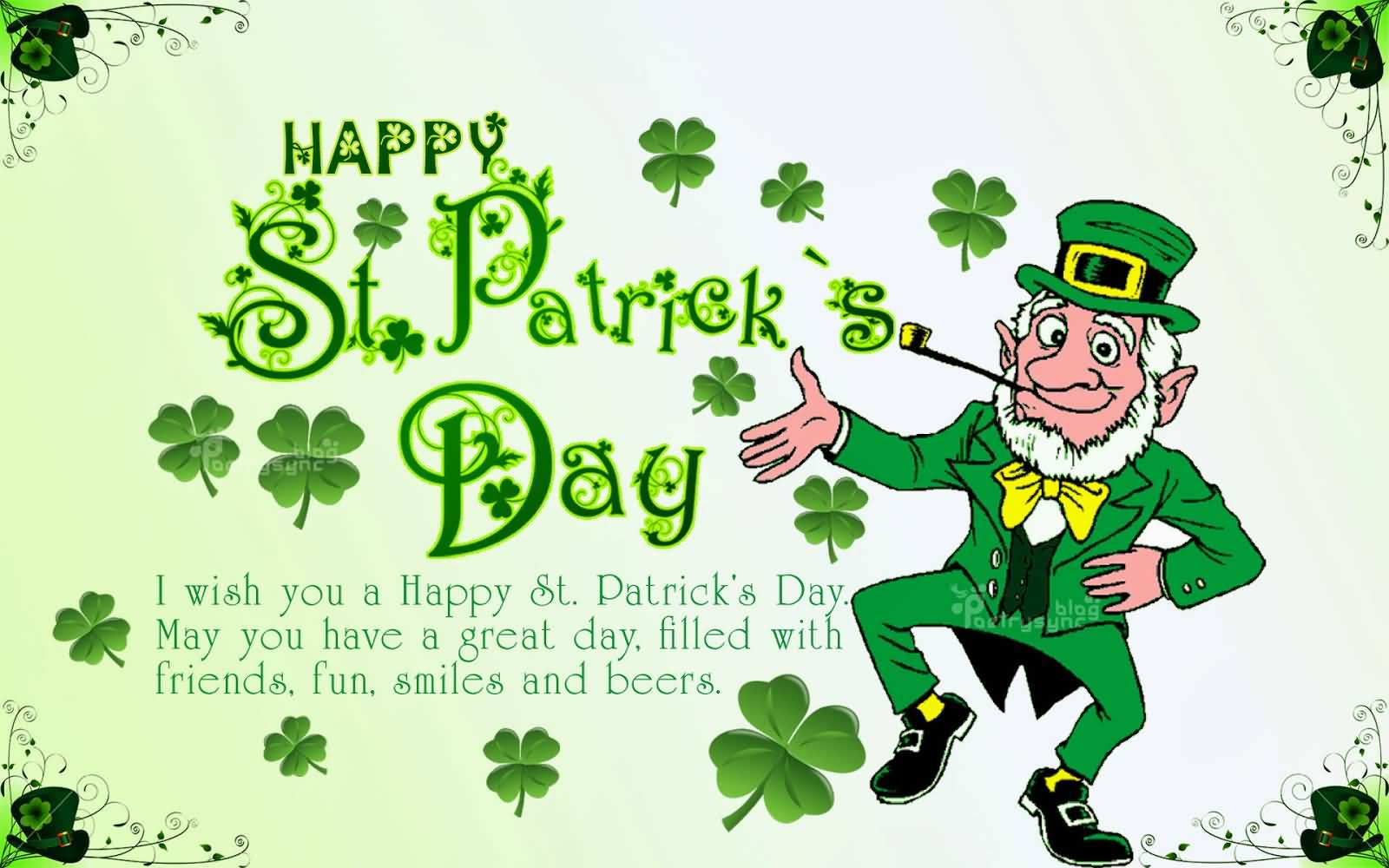 55 most beautiful saint patricks day wish pictures and photos i wish you a happy saint patricks day may you have a great day filled with m4hsunfo