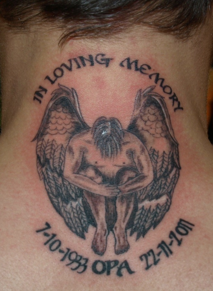 17 unique memorial tattoos pictures collection for Memory tattoos pictures