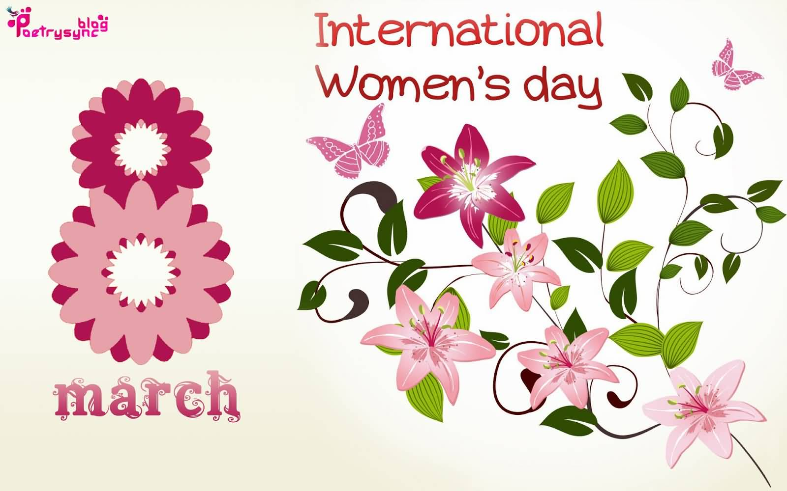 Womens International day cards pictures