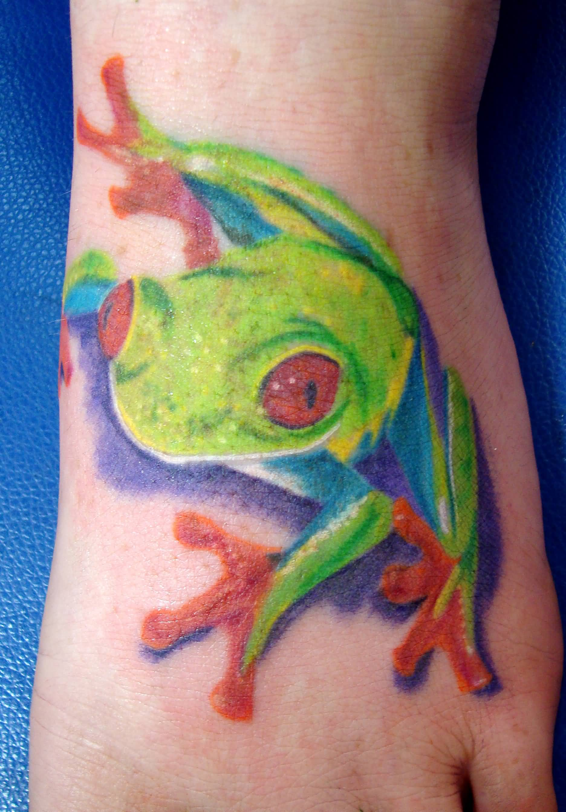 46+ Unique Frog Tattoos Designs And Pictures