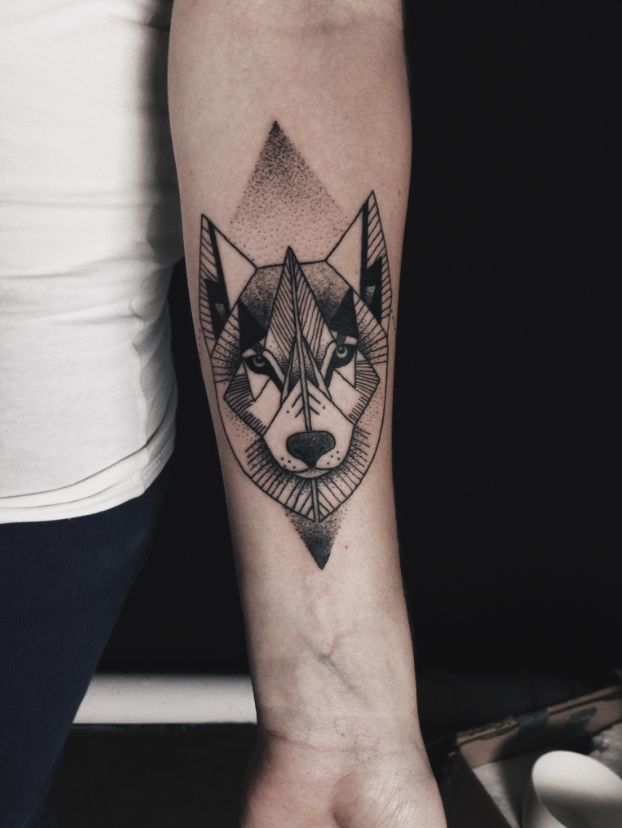 57 best wolf tattoos pictures and ideas for Wolf head tattoos