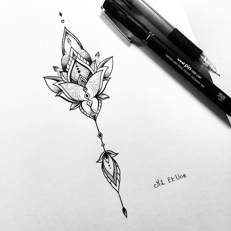 simple mandala tattoo design