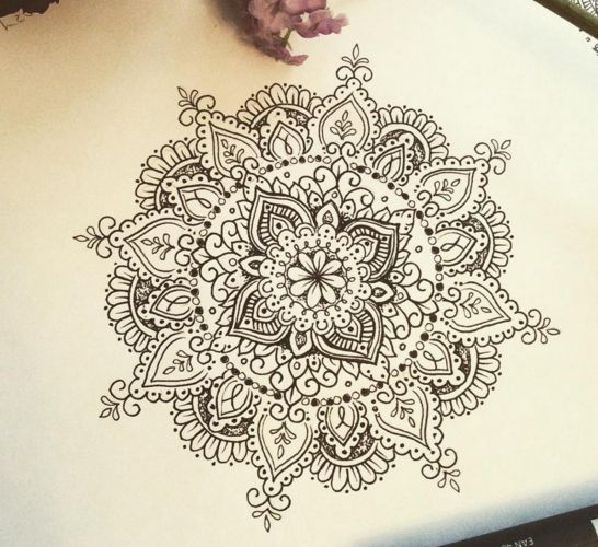 25 Best Ideas About Mandala Tattoo Design On Pinterest: 45+ Best Mandala Tattoos Designs