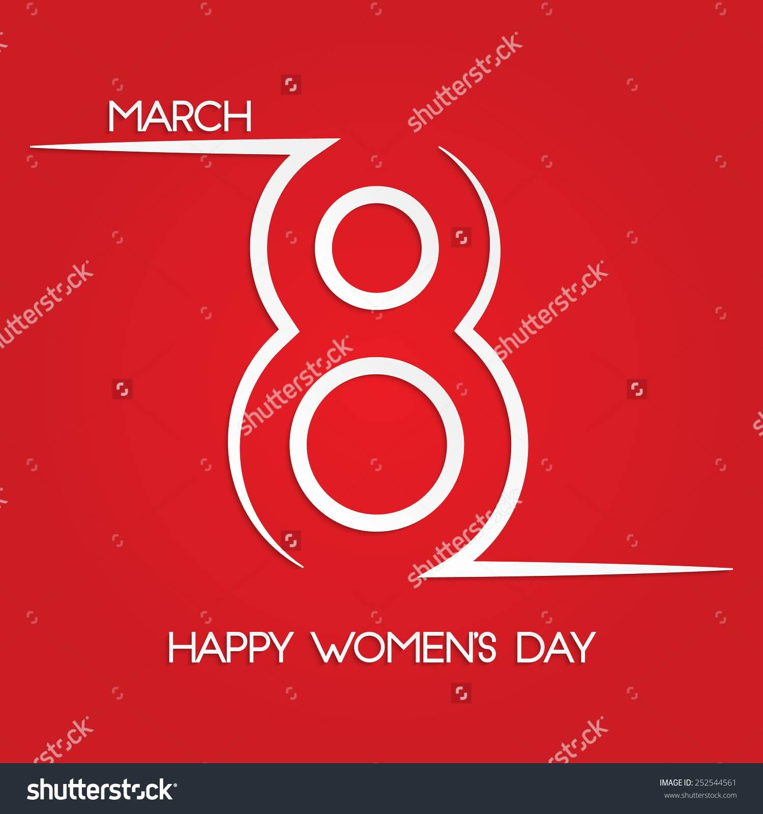 45 most beautiful womens day greeting card pictures march 8 happy womens day red greeting card kristyandbryce Gallery