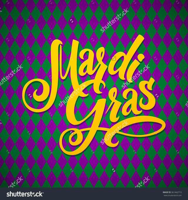 Mardi Gras 2017 Greeting Card